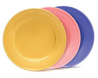 Clean plates, isolated. Vector illustration Royalty Free Stock Photos