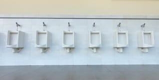 Clean public toilet room,nobody. Clean new public toilet room,nobody Stock Images