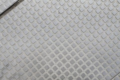 Clean and pure metals background. Square array of metal background Royalty Free Stock Images