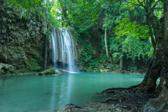 Clean and purity waterfall for the best relax Royalty Free Stock Photos