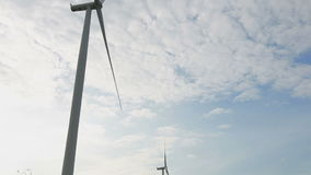 Clean and renewable energy. Wind Power stock video footage