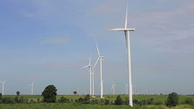 Clean and Renewable Energy. Wind Power stock video