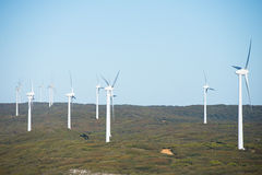 Clean Renewable Wind Power Energy Australia Stock Photography