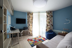 Clean room in european style Royalty Free Stock Images