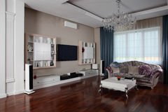 Clean room in european style Royalty Free Stock Image