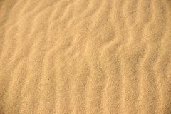 Sand of a beach with line pattern. Clean sand of a beach with line pattern stock photos