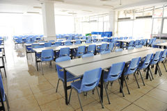 Clean school cafeteria Royalty Free Stock Images
