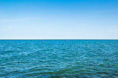 Clean sea on summer Stock Photo