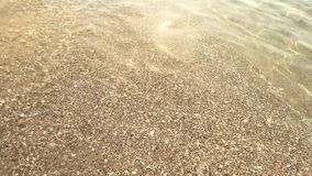 Clean sea water and sunlight. stock video footage