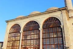 Clean shot of mosque facade stock photo