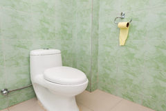 Clean and simple toilet Royalty Free Stock Photos