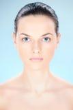 Clean skin woman Stock Image
