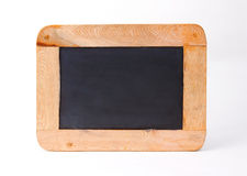 Clean and small black board Stock Images