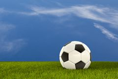 A clean Soccer Scenery Stock Images