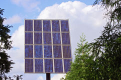 clean solar power Stock Image