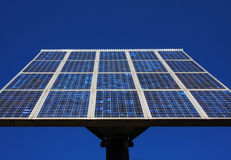 clean solar power Stock Photo