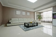Comfortable sofas Stock Images