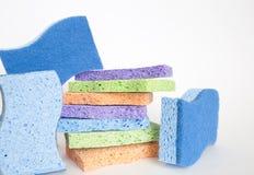 Clean sponge background Stock Photos