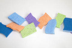 Clean sponge background Stock Images