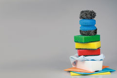 Clean sponges Royalty Free Stock Photo