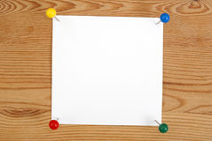 The clean square blank Royalty Free Stock Photos