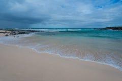 clean strand Arkivfoton