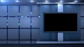 Clean studio virtual background
