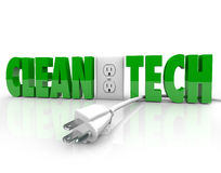 Clean Tech Power Plug Electrical Outlet Unplug Energy Source Stock Images