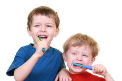Clean teeth Stock Images