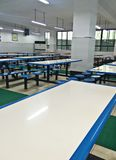 A clean and tidy canteen. The interior of a clean and tidy canteen Royalty Free Stock Images