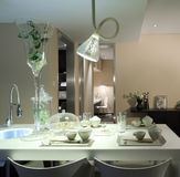 Clean and tidy home restaurant. Clean and tidy home restaurant, Indoor Environment Stock Photo