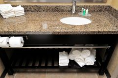 Clean and tidy wash basin Stock Images
