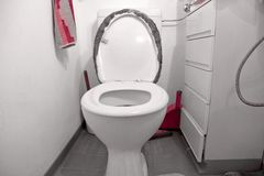 Clean Toilet Royalty Free Stock Images