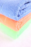 Clean towels Royalty Free Stock Photos