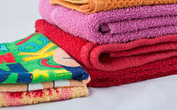 Clean towels Stock Images