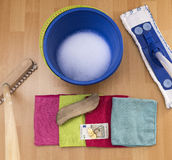 Clean up for money Royalty Free Stock Photography