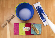 Clean up for money Stock Photo