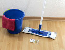 Clean up for money Stock Image