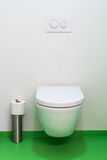 Clean urinal wc. Royalty Free Stock Photo