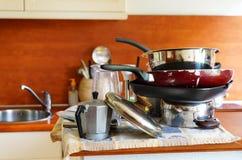 Clean utensil Stock Photo