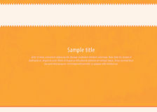 Clean vector template. Textured layout. Much space for your cont Stock Images