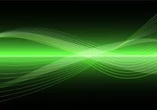 clean vektorwave för abstrakt bakgrund Royaltyfria Foton