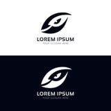 Clean vision sign eye logo icon vector design Stock Photo