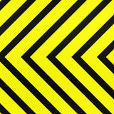 Clean warning stripes Royalty Free Stock Photos