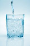 Clean water. To pour in glass Royalty Free Stock Photo