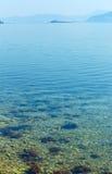 Clean water of Adriatic Sea (Croatia) Stock Photos