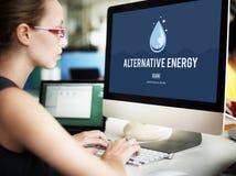 Clean Water Alternative Energy H2o Concept Stock Photos