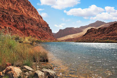 Clean water of the Colorado River Stock Photo