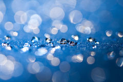Clean water drops macro Royalty Free Stock Image
