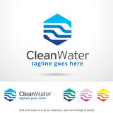 Clean Water Logo Template Design Vector Royalty Free Stock Photos